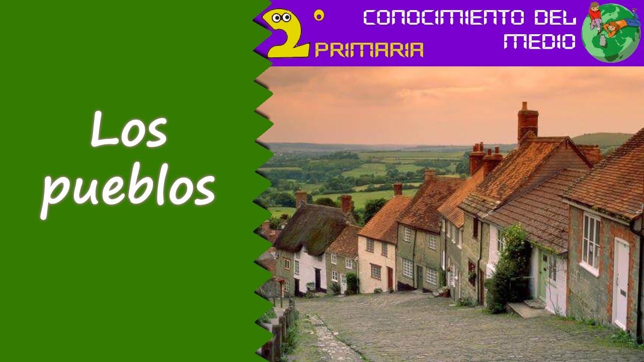Cono, 2º Primaria. Tema 11. Los pueblos