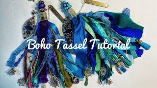 Boho Gypsy Tassel Tutorial Using Grandma's Thimbles