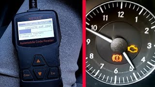 Review and Test OBD 2 Nexas NL100 Diagnostic Scanner / Reset Check Engine error on Car