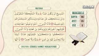 Cübbeli Ahmet Hocaefendi ile Mukâbele 6. Cüz
