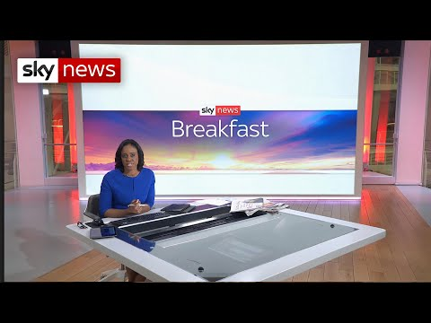 Sky News Breakfast: Myanmar's 'Tiananmen moment' and NHS pay row