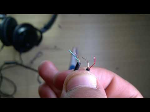 ¿Como reparar audifonos de diadema panasonic?