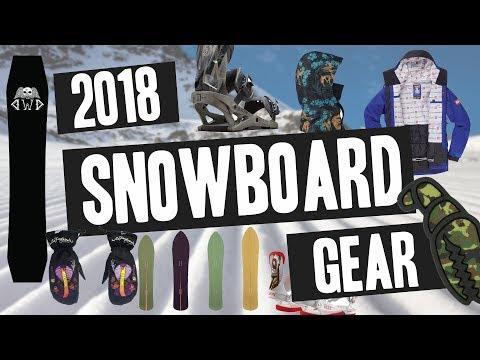 Best Snowboard Gear of 2018