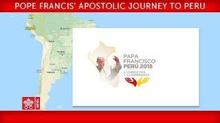 """Pope Francis - Apostolic Journey to Peru - Visit to """"Hogar Principito"""" 2018-01-19"""