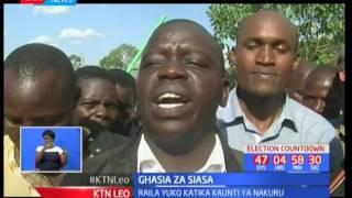 Maandamano maeneo ya Narok baina ya wafuasi wa gavana Nanok na wa chama cha Mashinani