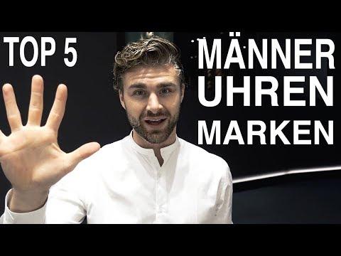 MÄNNER UHREN ● TOP 5 MÄNNER LUXUS UHREN MARKEN 2018 - BASELWORLD | DANIEL KORTE