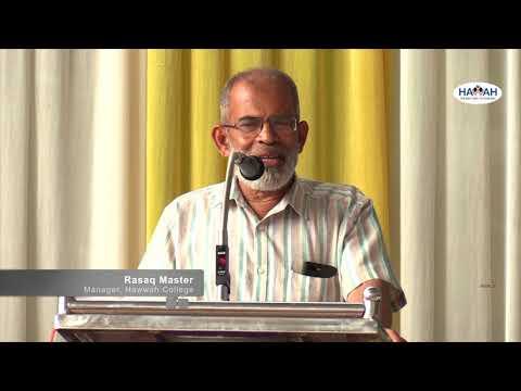Rasaq Master  I  HAWWAH Kollege  I  Kozhikode