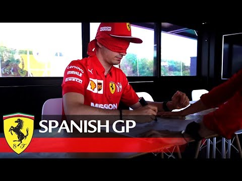 "Spanish GP - ""A lap in BCN? I can do it even blinded."""
