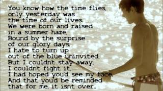Austin Mahone- Someone like you Lyrics on screen
