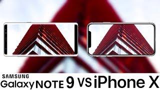 Samsung Galaxy Note 9 Vs iPhone X Camera Test