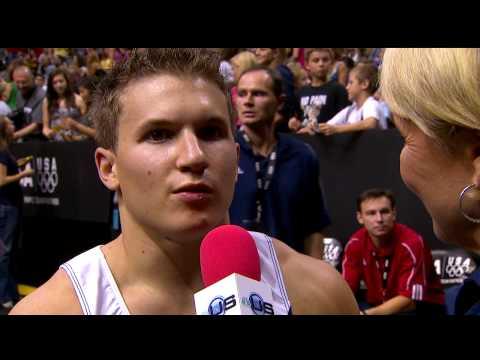 Jonathan Horton Interview and Broadcast Close - 2009 Visa Championships - Men - Day 2