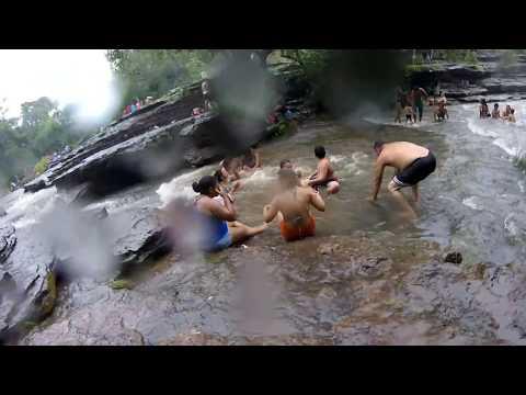 Cachoeira da campeira em alto Longá Piauí