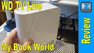 Western Digital WD TV Live and My Book World Review and Interface Walkthrough