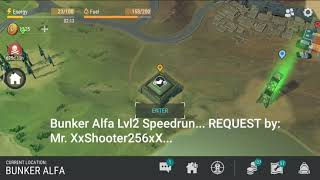 Bunker Alfa Lvl2 Speedrun _ REQUEST By: Mr. XxShooter256xX   Last Day On Earth: Survival