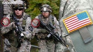 Mira por qué los soldados de EU usan la bandera al revés