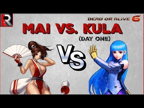 Kula Vs. Mai - Day One Online Matches! (Dead Or Alive 6)
