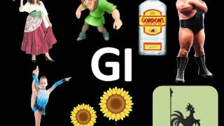 GA , GE , GI , GO  Y  GU EN  LAS SÍLABAS DE LAS PALABRAS  -  ESPAÑOL BÁSICO