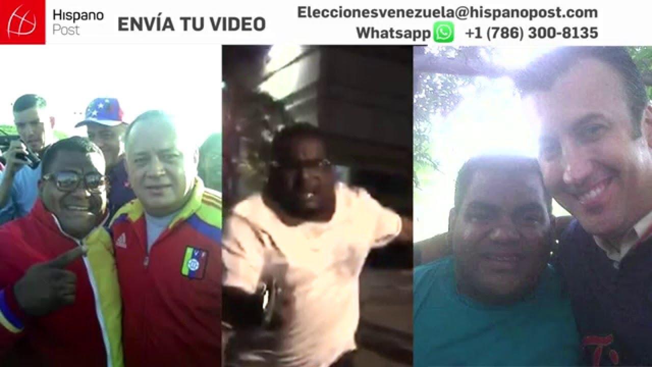 Chavista amigo de Cabello y Tarek amenaza con PISTOLA