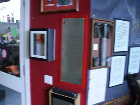 mannequin-man performming as a Museum Dummy: Taking the place of a couple of the Essex Fire Museum's mannequins for the day to the amusement of the visiting children for Essex Fire Museum on 30/03/2016