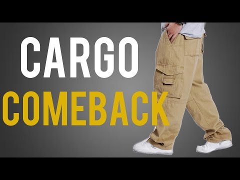 How To Wear Cargo Pants With Style - Fall 2018 Trend