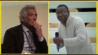 Un Africain recadre sèchement un Professeur émérite sur la démocratie en Afrique.