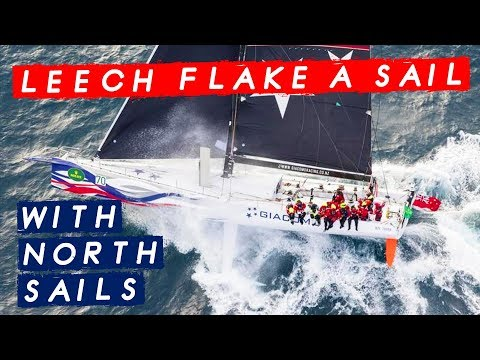Learn How To Leech Flake a Sail with North Sails - Tips to look after your Sails