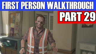 GTA 5 First Person Gameplay Walkthrough Part 29 - 2ND HEIST PREP! | GTA 5 First Person
