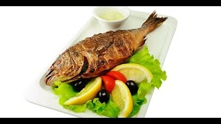 Рыба на мангале, рецепт ресторанов Кипра/ Levrek mangal