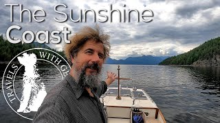 The Sunshine Coast - Boat Life - Living aboard a wooden boat - Travels With Geordie #182