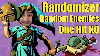 ONE HIT KO, ALL MASKS, RANDOM ENEMIES, MAX RANDOM Zelda: Majora's Mask Randomizer