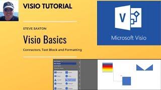Microsoft Visio Shape Basics, shape connectors, shape types and shape formatting