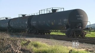 Wine Country Residents Fight Plan To Store Railroad Tanker Cars Carrying Hazardous Fuel