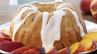 all recipes peach cobbler cake mix