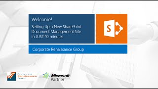 Setting Up a Document Management Site in Just 10 Minutes with SharePoint and Office 365