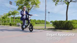 DYU Egret Electric Bike | 100KM Max Mileage | Indiegogo