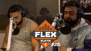 FleX FM - FLEXclusive Cypher 20 (Azzi Memo & Ajé)