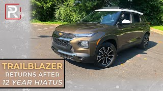 [Redline] The 2021 Chevrolet Trailblazer is New Least Expensive SUV of Chevy