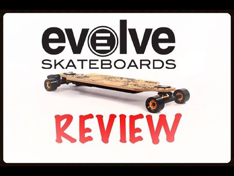 Evolve Bamboo GT Series Electric Skateboard (REVIEW)