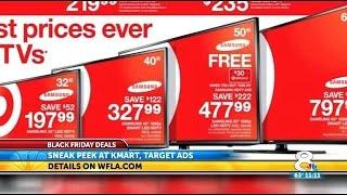 Black Friday Ads: Target & Kmart