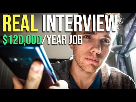 REAL Interview with recruiter for $120,000/Year Developer Job