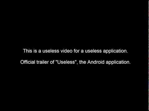 Video of Useless