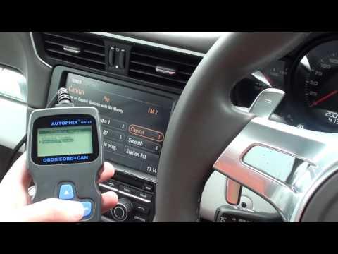 OM123 Kia Sportage Engine Warning Light Reset Diagnose P0238