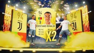 2 CRISTIANO RONALDO EN 2 SOBRES SEGUIDOS!!   TOP SOBRES #10   FIFA 19
