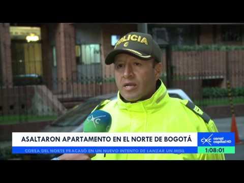 Así fue el asalto a un apartamento en el norte de Bogotá