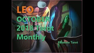 NEW! LEO October Tarot Monthly!  She Hates Your Guts!  October 2018