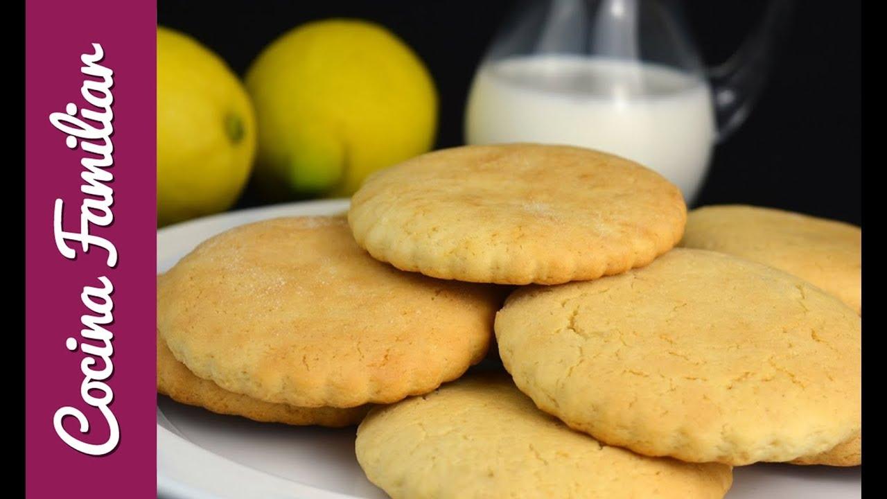 Galletas de limón con leche condensada | Javier Romero