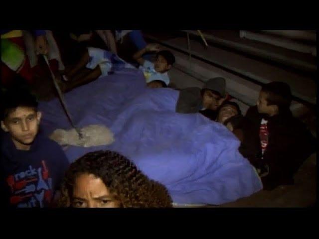 مشاهد مرعبة من زلزال تشيلي