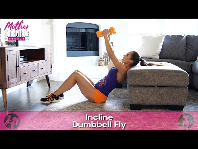 Incline Dumbbell Fly