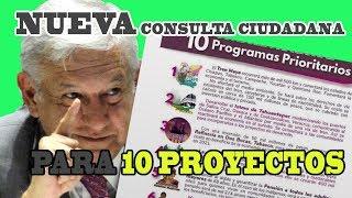 NUEVA CONSULTA - para 10 PROYECTOS