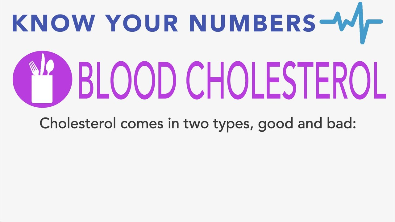 Know Your Numbers: Cholesterol